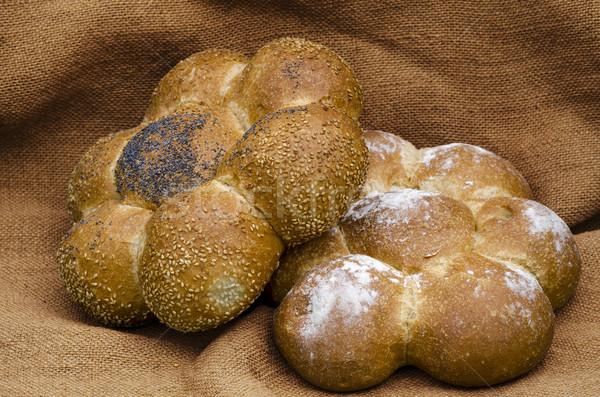 хлеб французский хлеб продовольствие свежие зерна мучной Сток-фото © guffoto