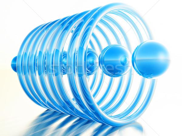 blue balls Stock photo © guffoto