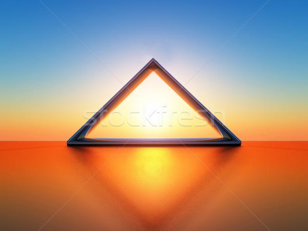 solar triangle Stock photo © guffoto