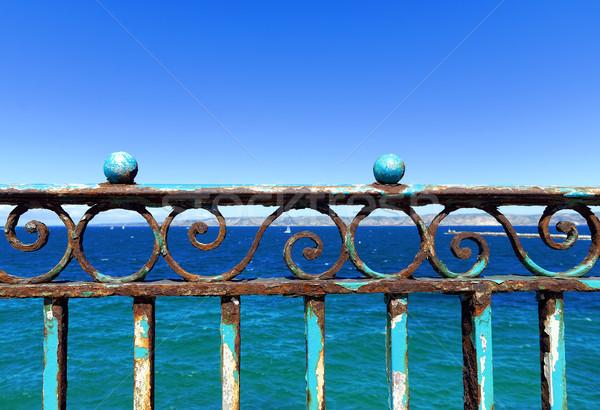 rusty balustrade Stock photo © guffoto