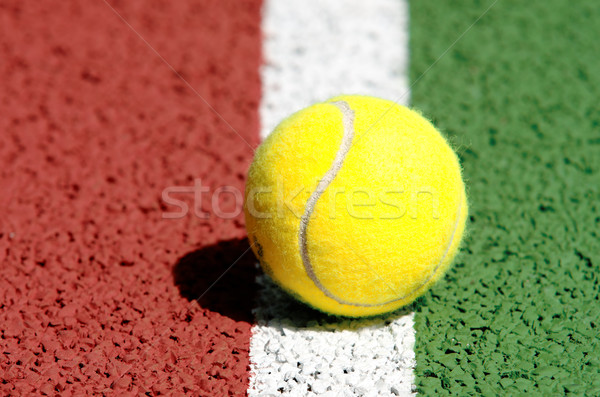 tennis ball Stock photo © guffoto