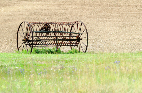 Old combine Stock photo © guffoto
