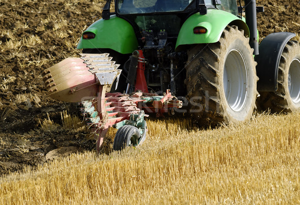 Mezőgazdaság traktor farm vidék gazda gép Stock fotó © guffoto