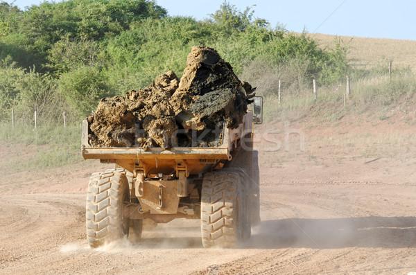 dumper truck Stock photo © guffoto