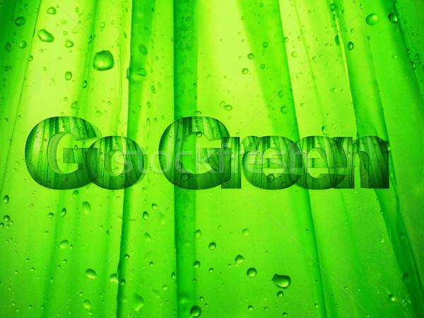 Go green Stock photo © guffoto