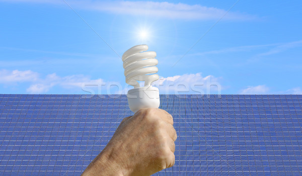 energy saving Stock photo © guffoto