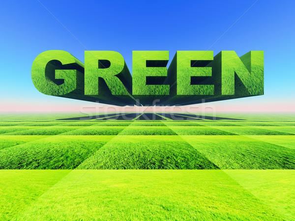 Green Stock photo © guffoto