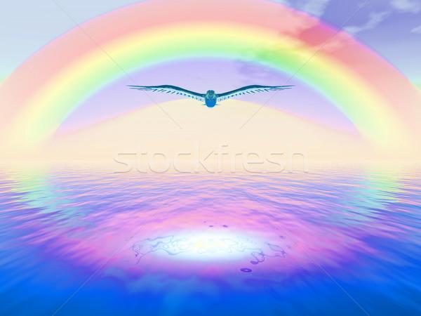 rainbow Stock photo © guffoto