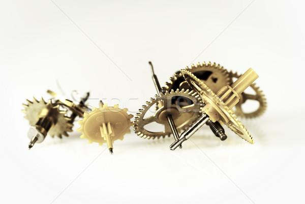 часы передач белый работу время машина Сток-фото © guffoto