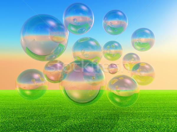 Bubbles Stock photo © guffoto