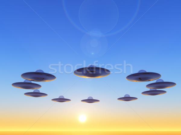 ufo Stock photo © guffoto