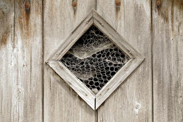 öreg ajtó fából készült ablak keret klasszikus Stock fotó © guffoto