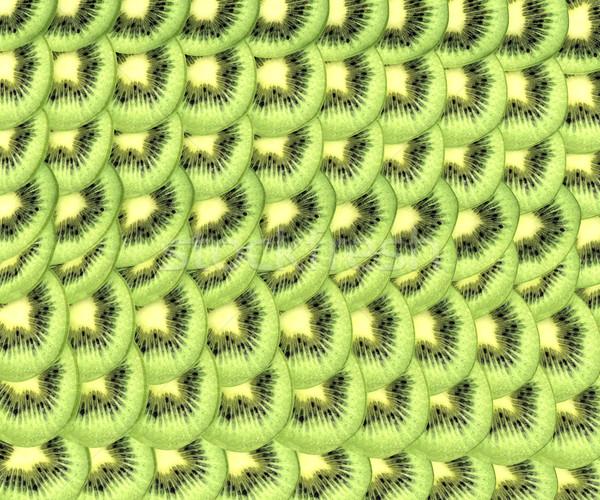Kiwi glas gezondheid eten vers Stockfoto © Guru3D