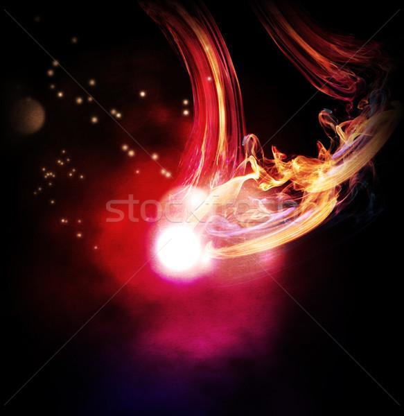 Abstract lichten achtergrond bal Rood Stockfoto © Guru3D