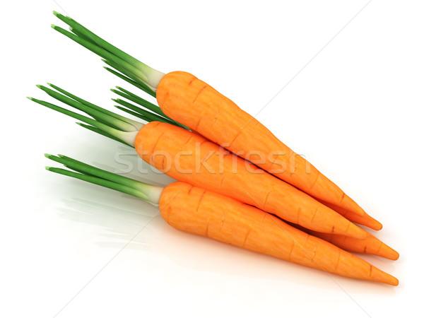 Hoop wortelen witte voedsel natuur groep Stockfoto © Guru3D
