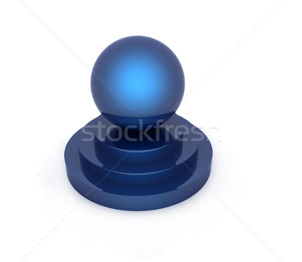 Bol podium witte business licht ontwerp Stockfoto © Guru3D