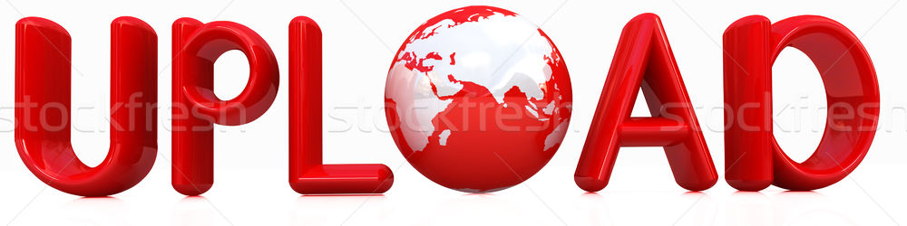 3d tekst wereldbol witte business internet Stockfoto © Guru3D