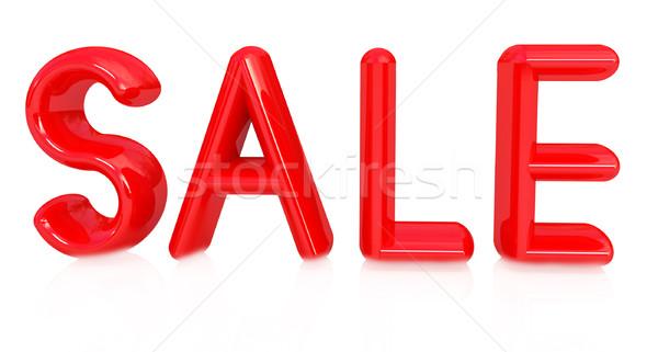 3次元の図 文字 販売 白 手紙 赤 ストックフォト © Guru3D