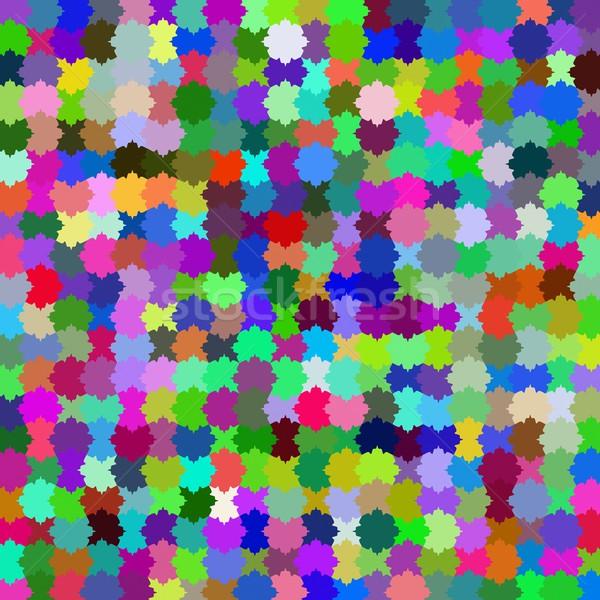 Stock fotó: Puzzle · minta · absztrakt · háttér · támogatás · játék