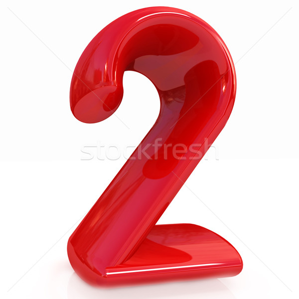 Number '2'- two Stock photo © Guru3D