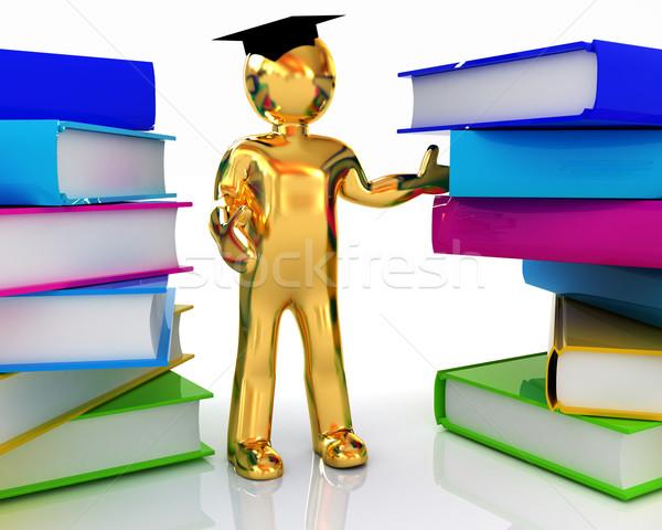 Stockfoto: Wereld · globale · onderwijs · witte · school