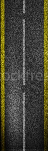 Asfalt abstract achtergrond rock zwarte donkere Stockfoto © Guru3D