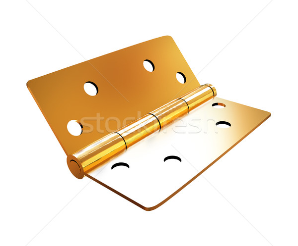 assembly metal hinges Stock photo © Guru3D