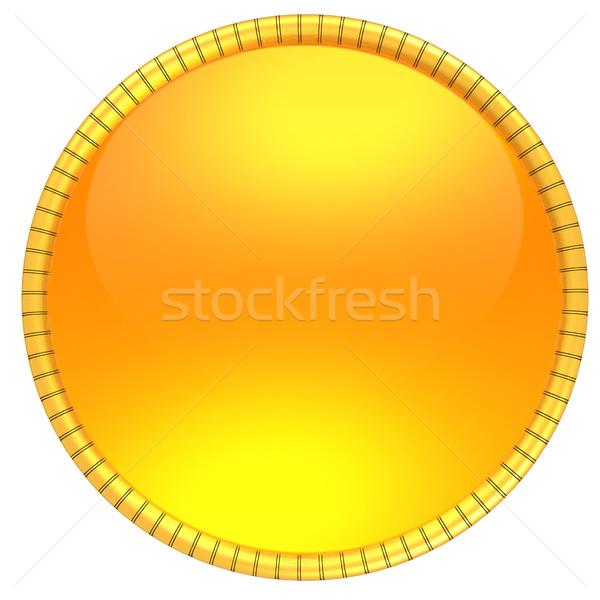 Shiny button Stock photo © Guru3D