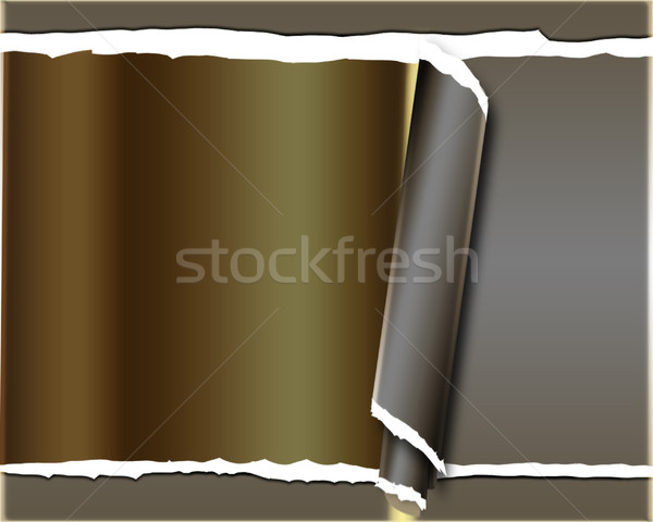background with torn paper  Stock photo © Guru3D