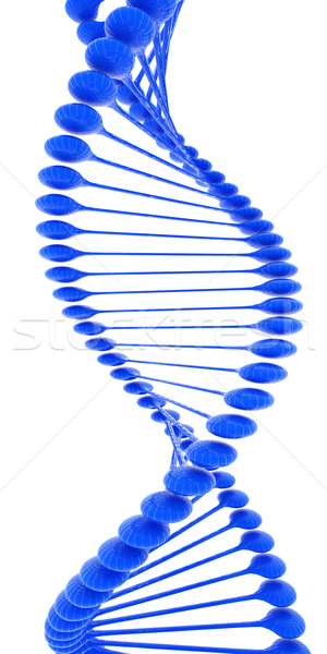 DNS struktúra modell fehér technológia tudomány Stock fotó © Guru3D
