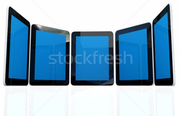 Telefonok fehér internet terv világ technológia Stock fotó © Guru3D