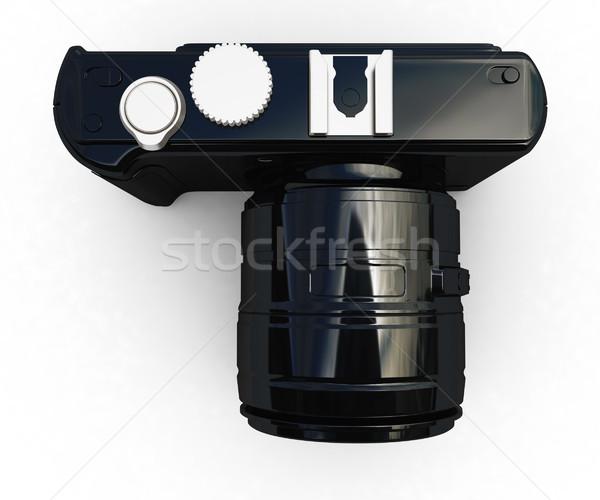 3d illustration of photographic camera Stock photo © Guru3D