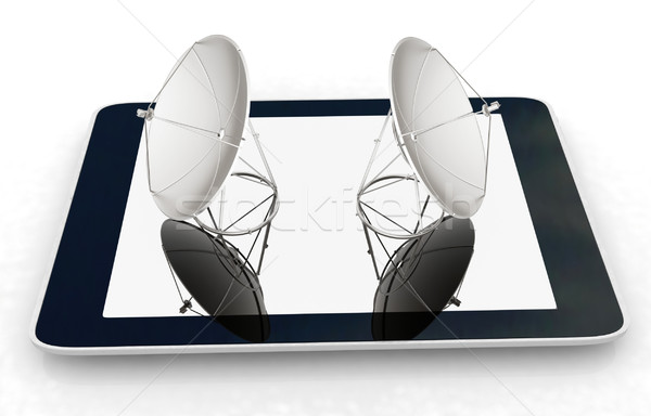 The concept of mobile high-speed Internet Stock photo © Guru3D