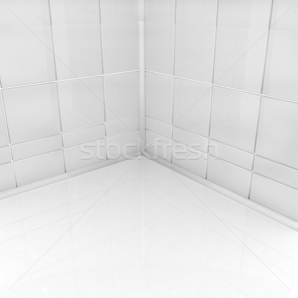 Lege hoek kamer huis licht ontwerp Stockfoto © Guru3D