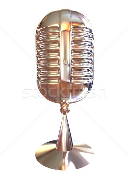 Chrome Microphone icon  Stock photo © Guru3D