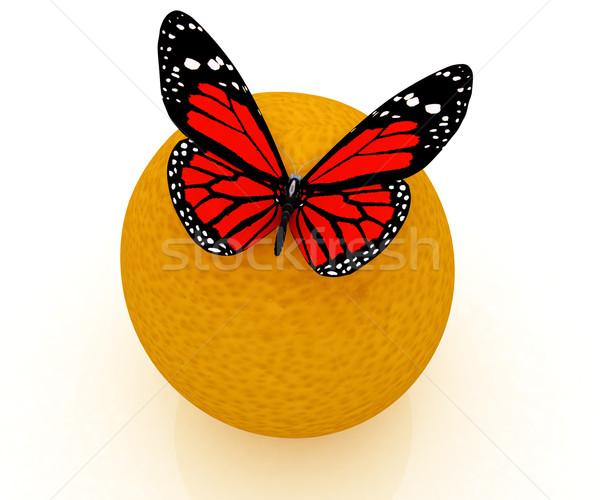 赤 オレンジ 白 食品 自然 背景 ストックフォト © Guru3D