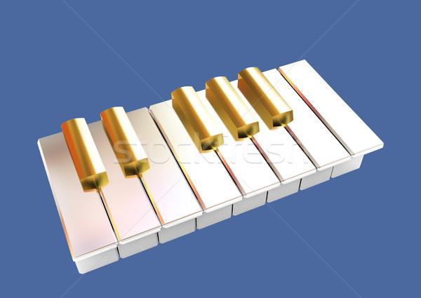 Piano  Stock photo © Guru3D