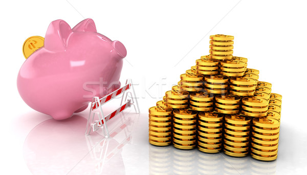 Savings no barriers! Stock photo © Guru3D