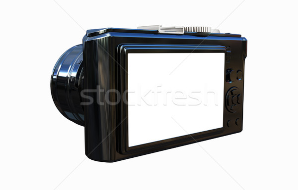3d illustration of photographic camera Stock photo © Guru3D