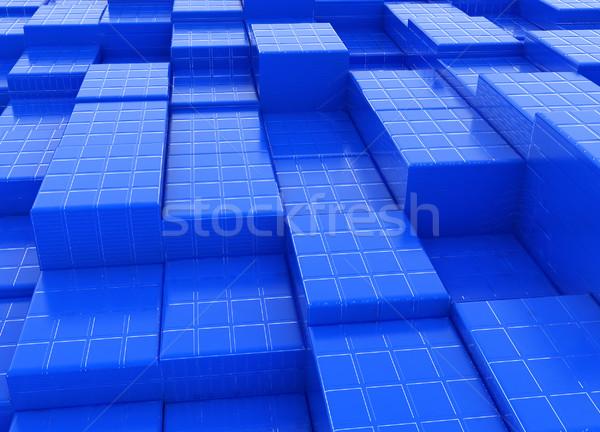 Soyut mozaik kentsel doku Bina şehir Stok fotoğraf © Guru3D