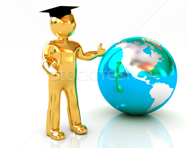 The world is opened for you. Education  Stock photo © Guru3D