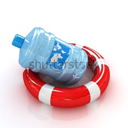 Crisis onderwijs witte kleur ondersteuning zwemmen Stockfoto © Guru3D