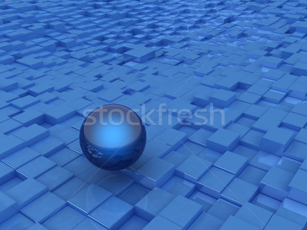 Abstract stedelijke bol business textuur licht Stockfoto © Guru3D