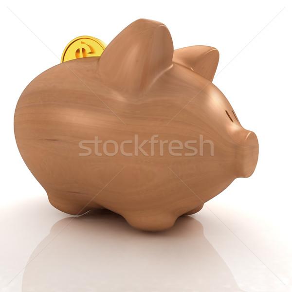 木製 貯金 下がり コイン お金 セキュリティ ストックフォト © Guru3D