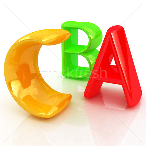 colorful abc  Stock photo © Guru3D