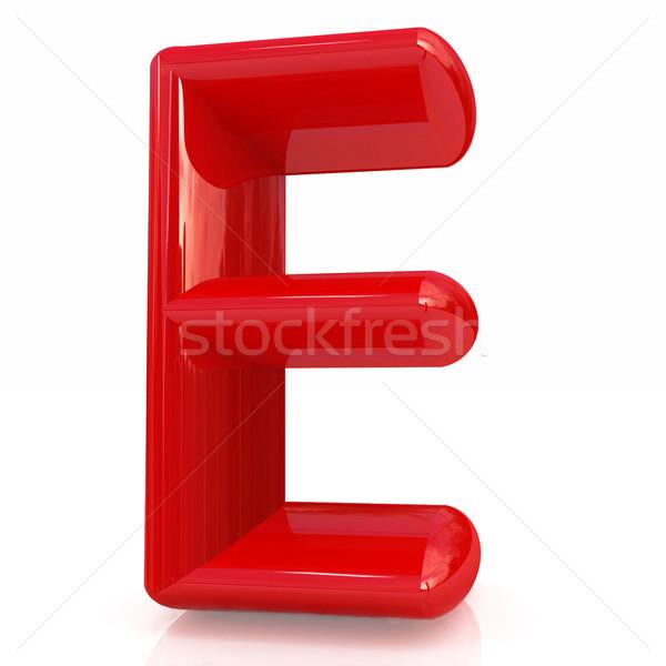 Alfabet witte ontwerp onderwijs teken Stockfoto © Guru3D