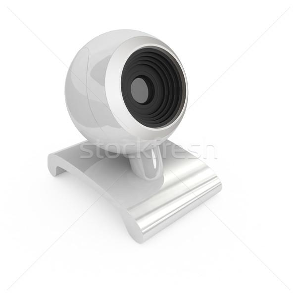 Webcam witte internet technologie web communicatie Stockfoto © Guru3D