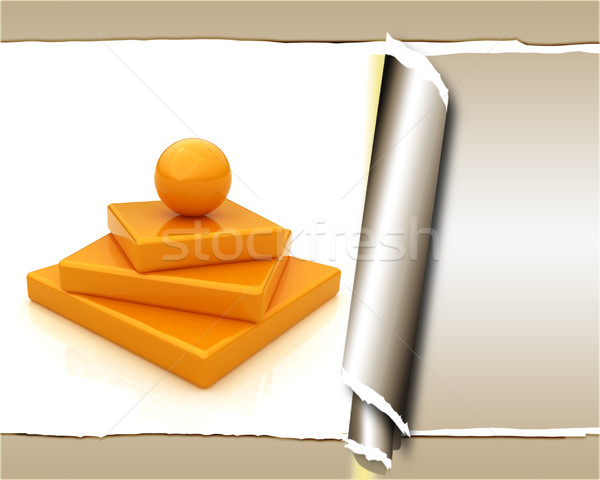 background of abstract structure - Japanese still life, with tor Stock photo © Guru3D