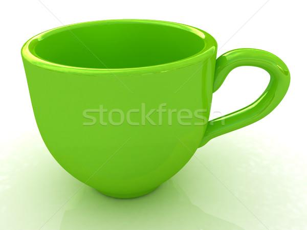 マグ 白 コーヒー 時間 サービス カップ ストックフォト © Guru3D