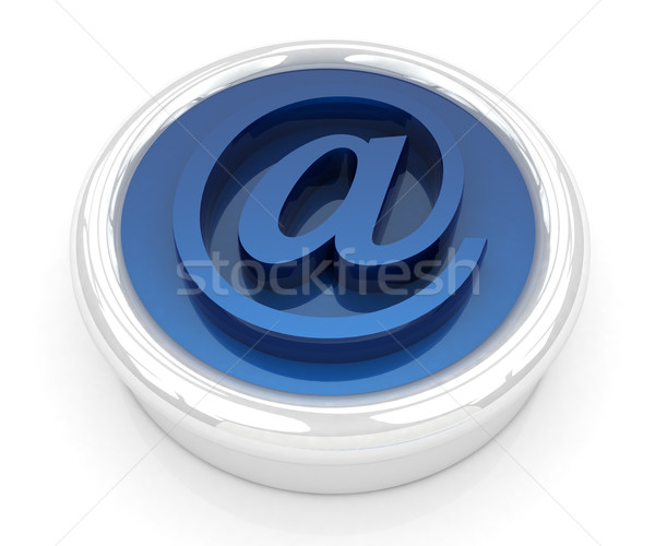 3d button email Internet push  Stock photo © Guru3D